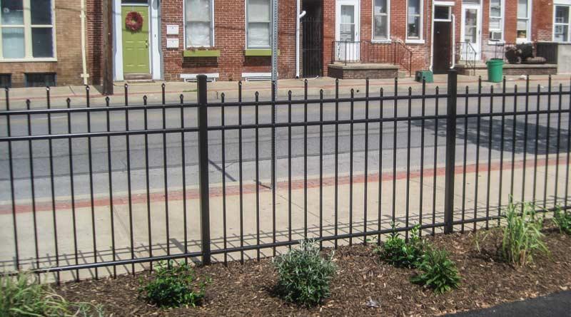 Prizm Vinyl Corporation ERIE Style Aluminum Fence