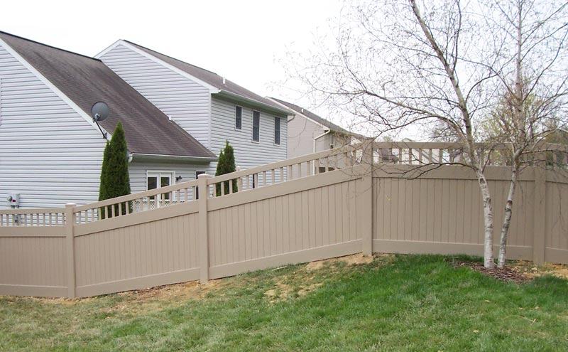 Bedford Spindle Style Privacy Fence