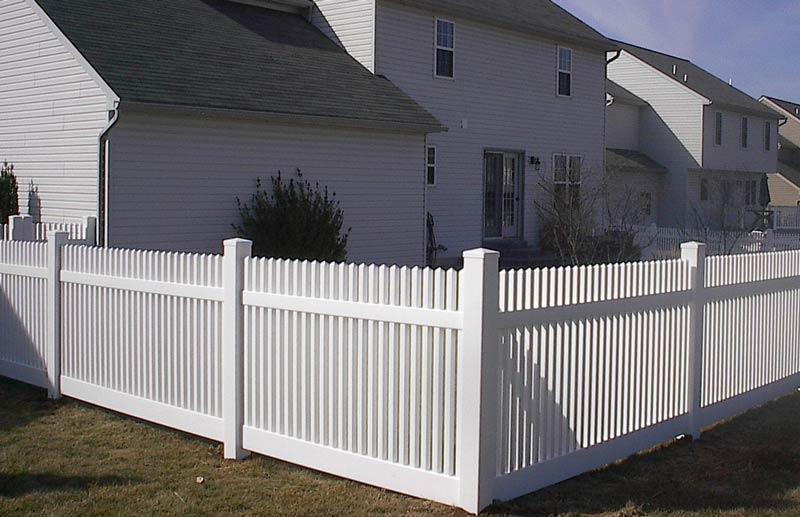 Frankin Style Picket Fence