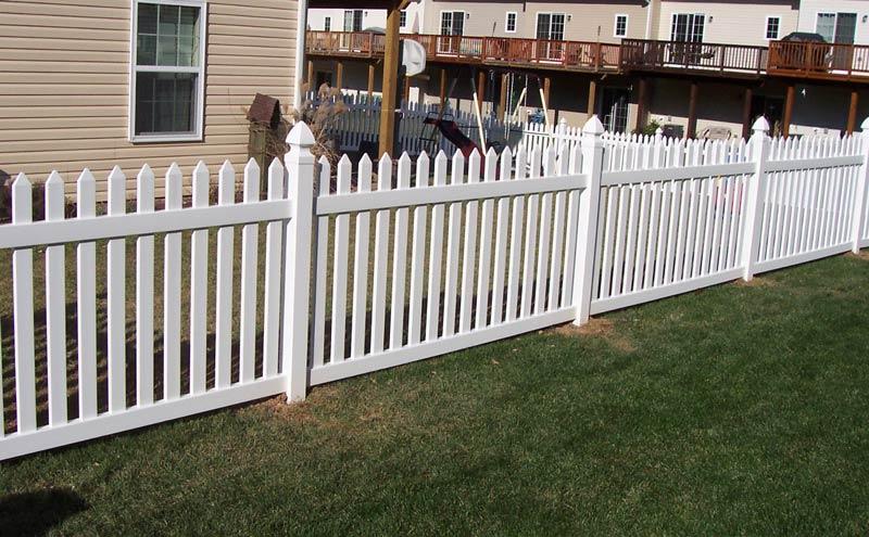 Scranton Style Picket Fence