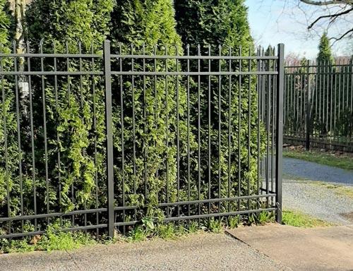 Aluminum Fence - Gettysburg Style